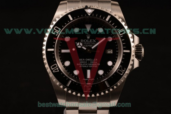 Rolex Sea-Dweller 3135 Auto Black Dial with Steel Case 116660S (BP)