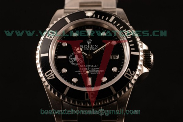 Rolex Sea-Dweller 3135 Auto Black Dial with Steel Case 116660 (BP)