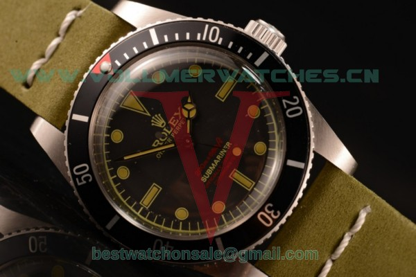 Rolex Submariner Vintage Asia 2813 Automatic Black Dial with Steel Case 5513