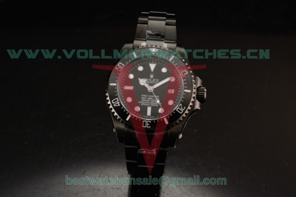 Rolex Sea-Dweller 3135 Auto Black Dial with PVD Case 116660