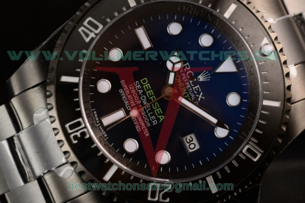 Rolex DEEPSEA Sea-Dweller 3135 Auto Blue Dial with PVD Case 116660 (BP)