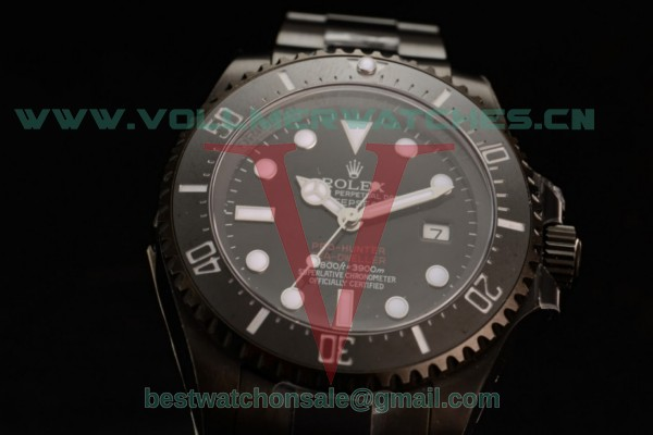 Rolex Sea-Dweller 3135 Auto Black Dial with PVD Case 116660 (BP)