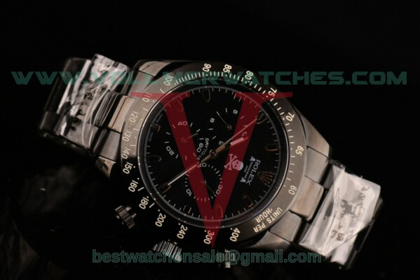 Rolex Daytona Mastermind 3836 Auto Black Dial with PVD Case 116520