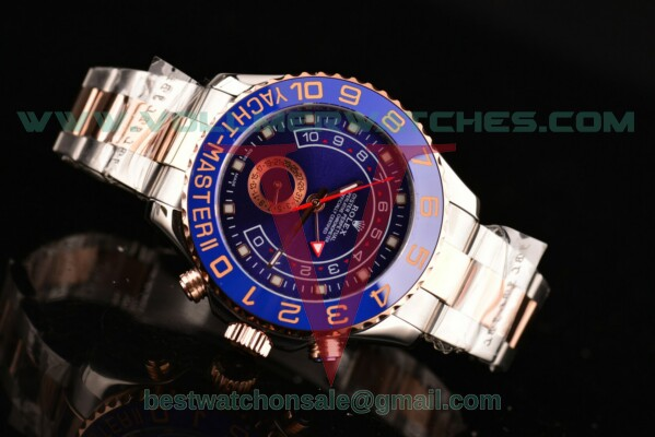 Rolex Yacht-Master II 3836 Auto Blue Dial with Two Tone Case 116689