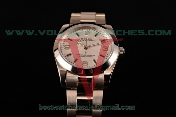 Rolex Air King 2813 Auto Silver Dial with Steel Case 116000 (G54)