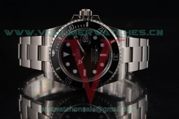 Rolex Submariner 3135 Auto Black Dial with Steel Case 116610LV (BP)