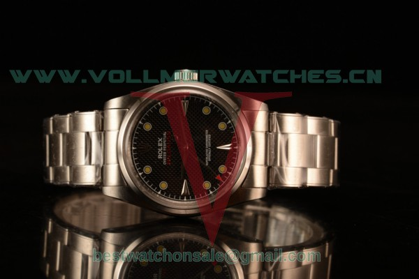 Rolex Milgauss Vintage Steel Case With Black Dial Yellow Dot Oyster Bracelet