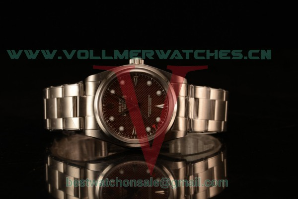 Rolex Milgauss Vintage Steel Case With Brown Dial White Dot Oyster Bracelet