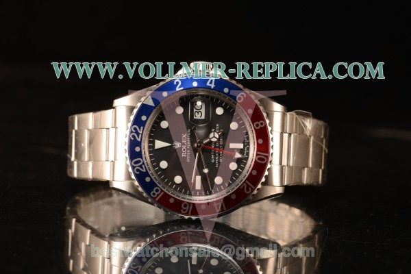 Rolex GMT-Master II Vintage Red/Blue Bezel Automatic (Correct Hand Stack) 16700