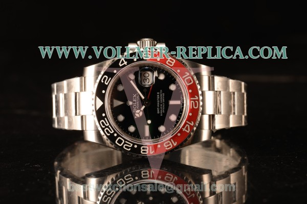 Rolex GMT-Master II Ceramic Red/Black Bezel Automatic (Correct Hand Stack) 16710