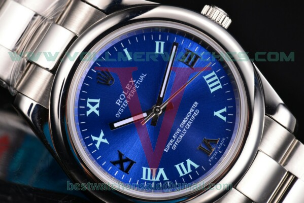 Rolex Datejust II 2813 Auto Blue Dial With Steel Case 116233blro