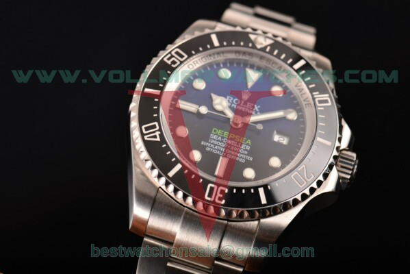 Rolex Deepsea Sea-Dweller D-Blue Edition Dive ETA 2836 Auto D-Blue Dial with Steel Case 116660(N00B)