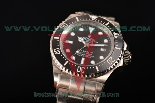 Rolex Deepsea Sea-Dweller ETA 2836 Auto Black Dial with Steel Case 116610 LN(N00B)