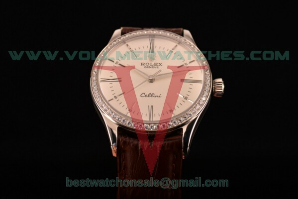 Rolex Cellini Asia Automatic White Dial With Steel Case 50507DBR(BP)