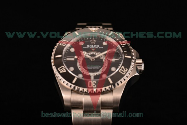 Rolex GMT-Master II Chronometer Asia Automatic Black Dial With Steel Case 116710 blk