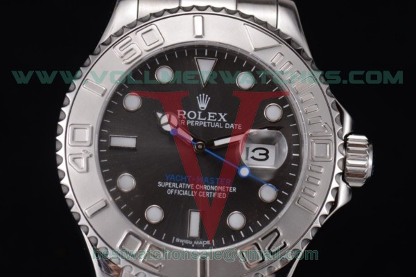 Rolex Yacht-Master 2813 Auto Black Dial With Steel Case 16622 blk