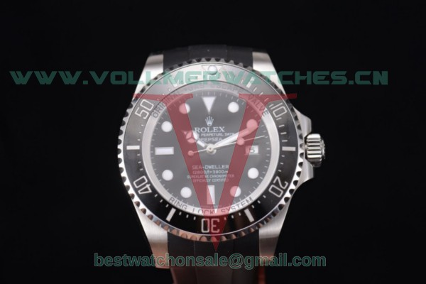 Rolex Deepsea Sea Dweller 2836 Auto Black Dial With Steel Case 116660 - 1:1 Original (N00B)