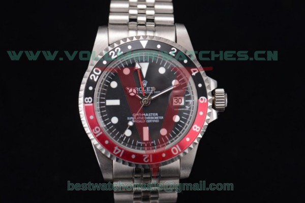 Rolex GMT-Master Vintage 2813 Auto Black Dial With Steel Case 116730LNR