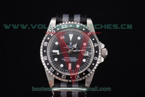 Rolex GMT-Master 2813 Auto Black Dial With Steel Case 116730LN