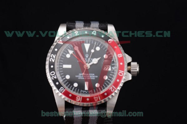 Rolex GMT-Master 2813 Auto Black Dial With Steel Case Red/Black Bezel 116730BRN