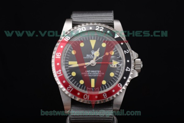 Rolex GMT-Master 2813 Auto Black Dial With Steel Case 11673005N