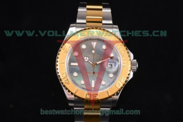 Rolex Yacht-Master 40 ETA 2836 Auto MOP Dial With Full Two Tone 16623 dkmop(NOOB)