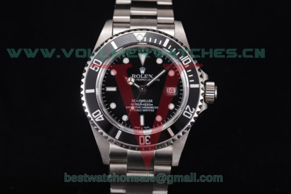 Rolex Sea-Dweller 4000 Clone Rolex 3135 Auto Black Dial With Full Steel 116600 (BP)