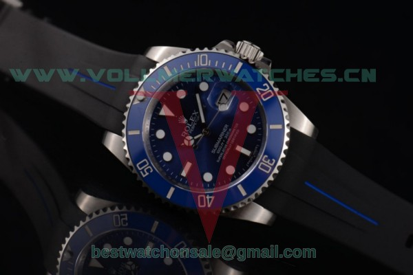 Rolex Submariner ETA 2836 Auto Blue Dial With Steel Case 116619LB