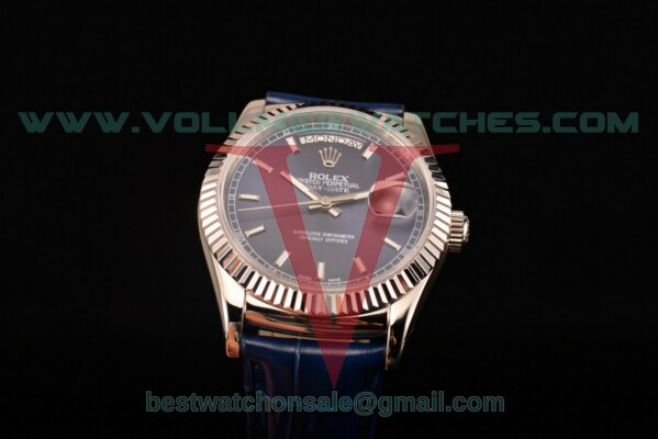 Rolex Day-Date 2813 Auto Blue Dial with Steel Case 118239/39 blsl (F22)