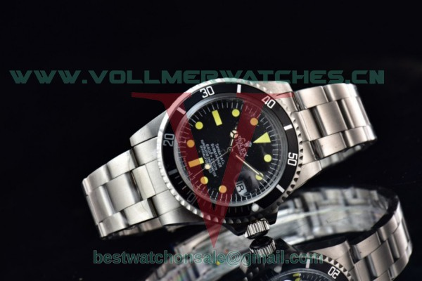 Rolex Submariner 2813 Auto Black Dial With Steel Case 1680