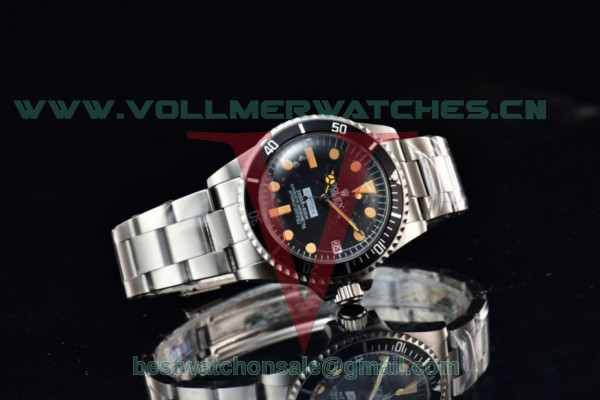 Rolex Submariner 2813 Auto Black Dial With Steel Case 1665