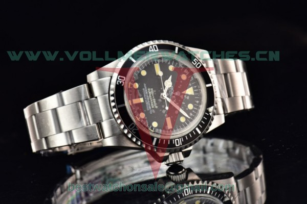 Rolex Submariner 2813 Auto Black Dial With Steel Case 5512