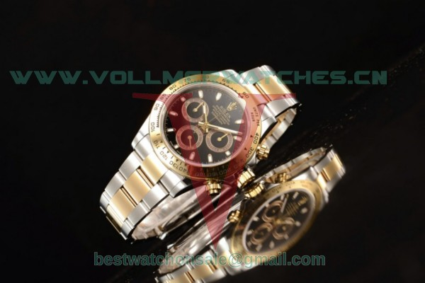Rolex Daytona 4130 Auto Black Dial With Yellow Gold Case M116503-0004