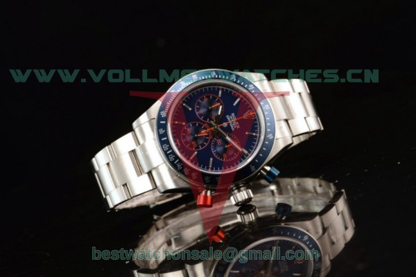 Rolex Daytona 4130 Auto Blue Dial With Steel Case 116520
