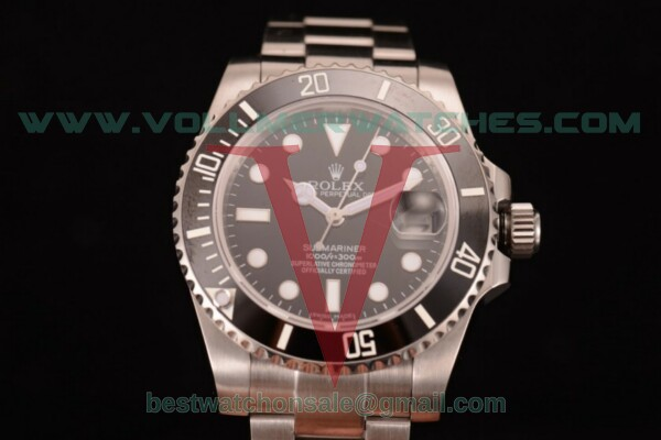 Rolex Submariner Automatic Black Dial with Steel Case 116610LN