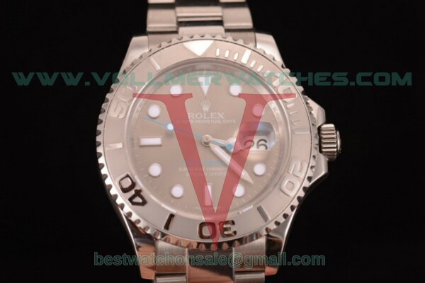 Rolex Yacht-Master 40 2836 Auto Grey Dial with Steel Case 116622 - (BP)