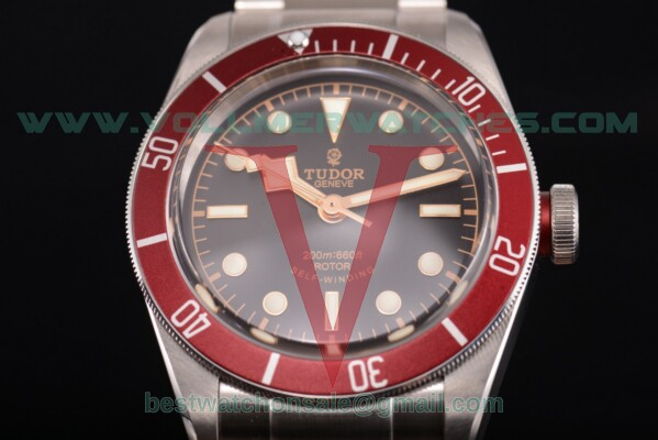 Tudor Heritage Black Bay ETA 2824 Auto Black Dial with Steel Case 79220R (ZF)