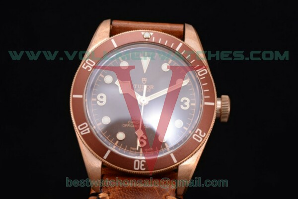 Tudor Heritage Black Bay 2824 Auto Brown Dial With Rose Gold Case 79250BM